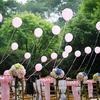 粉嫩风格的草坪婚礼 给想办户外的亲一点参考建议