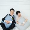 纯内景的婚纱照被朋友说有年代感,真的吗