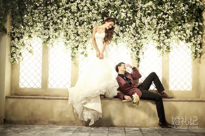 奢华欧式风格,婚礼摄影