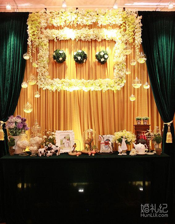 仪式区香槟塔装饰 3