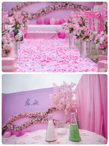 多图!蒂芙尼蓝 粉色婚礼!马尔代夫蜜月美片!
