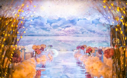 天空之镜,婚礼策划公司