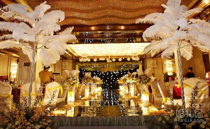 婚礼欧式交接区