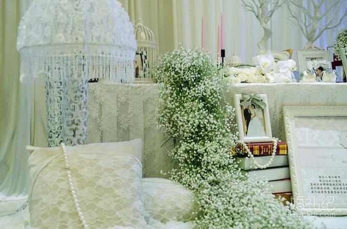 盛妆婚礼#欧式白色婚礼《纯爱》