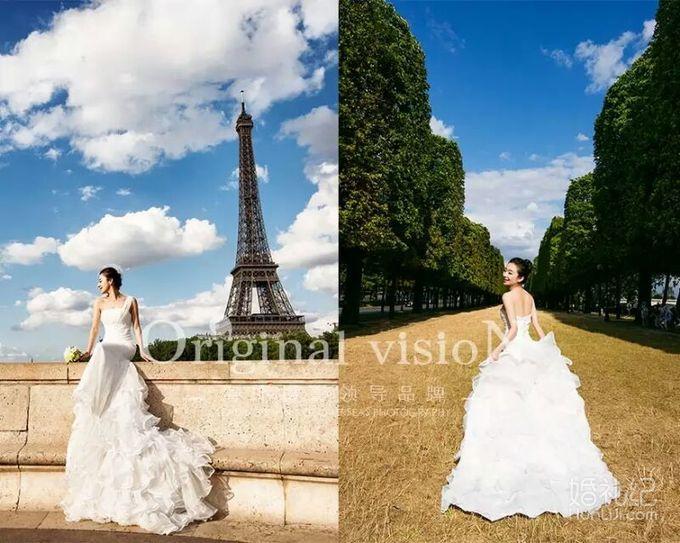 拍摄风格:欧洲风情 拍摄景点:巴黎,普罗旺斯 服装造型:婚纱,礼服图片