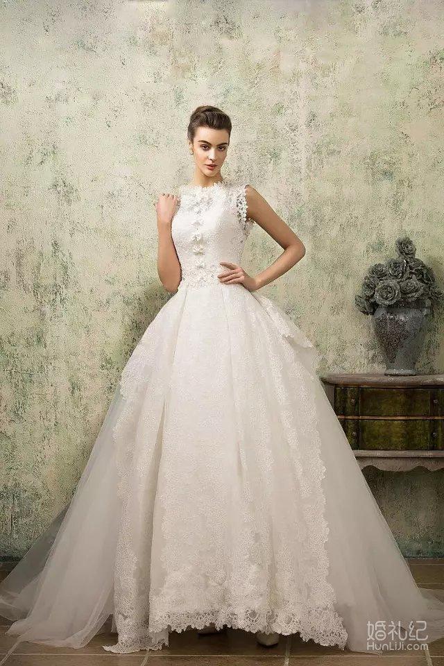欧式宫廷婚纱,婚纱礼服设计作品欣赏