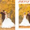 晒晒落叶下的婚纱照和我们的婚礼