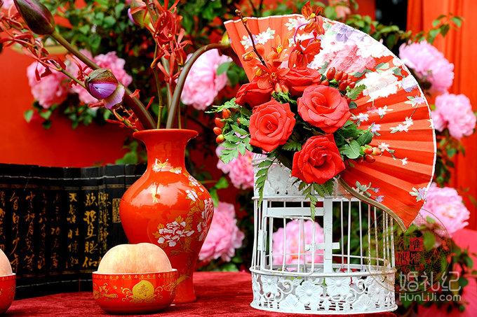 【唯雅婚礼】蜀绣之乡--岷江金岸寿宴图片