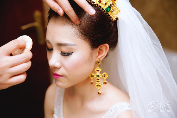 欧式复古风婚礼