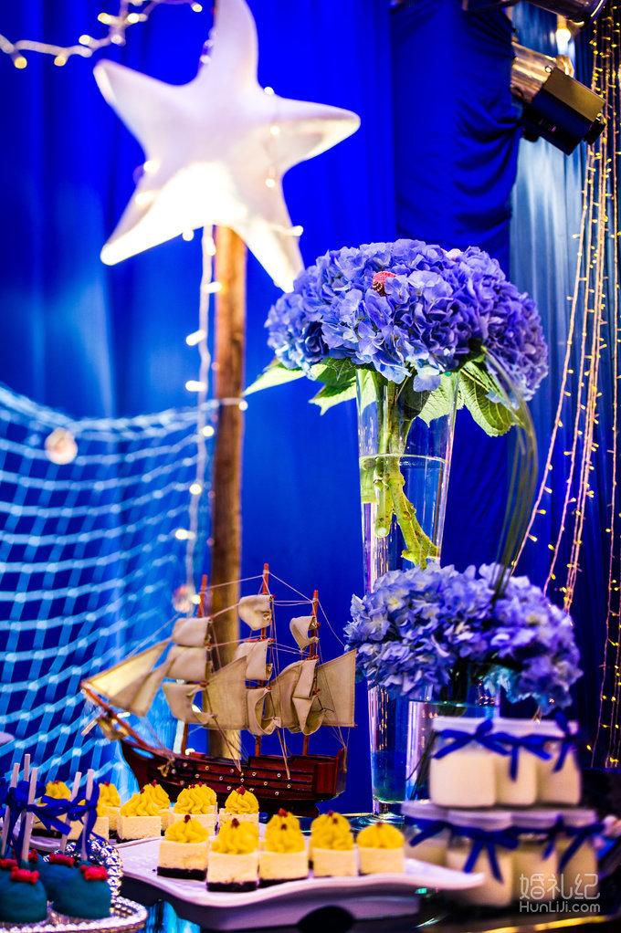 清凉海洋风主题婚礼