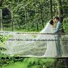 植物园拍婚纱照很仙气  婚礼布置花了6W