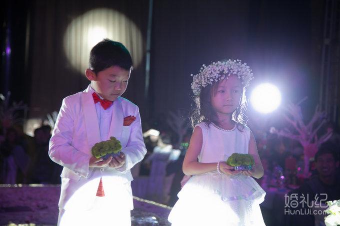 婚礼素材花环背板