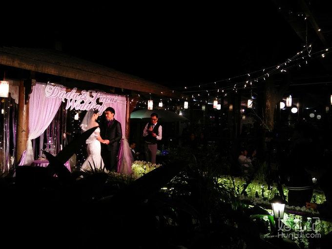 """""""有一点动心""""绿岛西餐厅户外婚礼"""