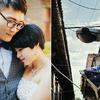 你们有见过在地铁里拍婚纱照的么?其实我也没见过!