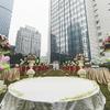 在这座城市的正中间 我们举办了超浪漫的草坪婚礼!