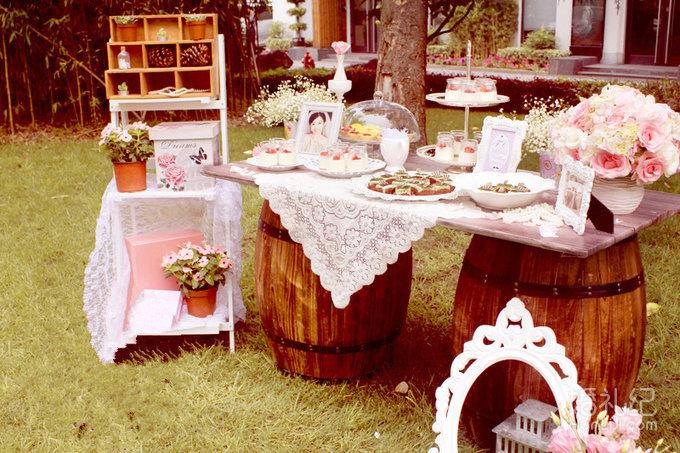 【天禧天成婚礼】小清新户外粉色---醉库红酒庄园