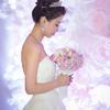 简约风的粉色婚礼  从同桌到夫妻