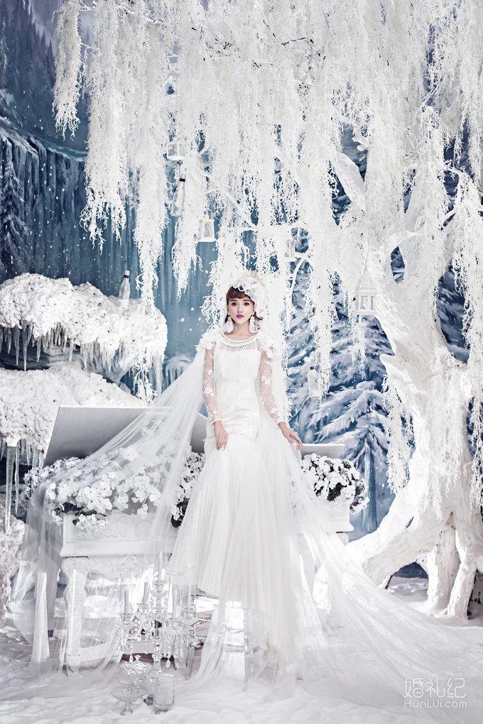 冰雪复古欧式婚礼