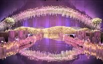 【摩卡婚】这是一场粉色系充满幻想与温柔的酒店婚礼