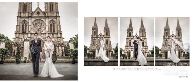 蒙娜丽莎婚纱摄影作品