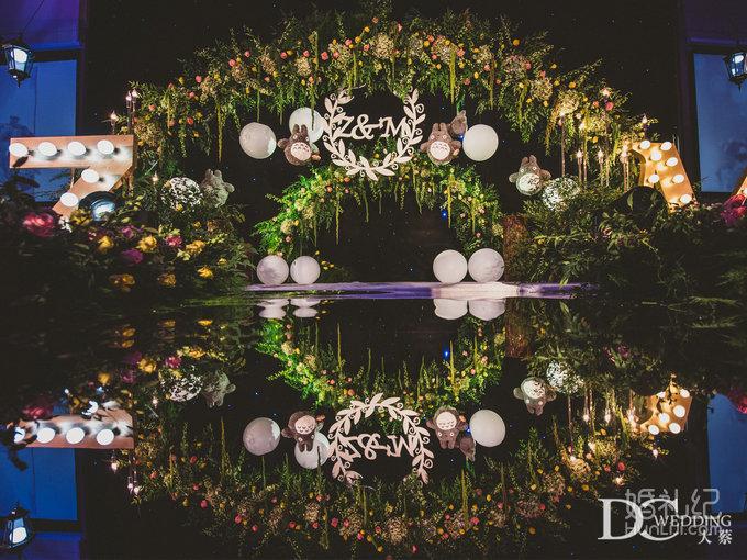 森系主题婚礼场景
