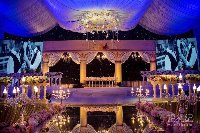 欧式宫廷轻奢风格婚礼