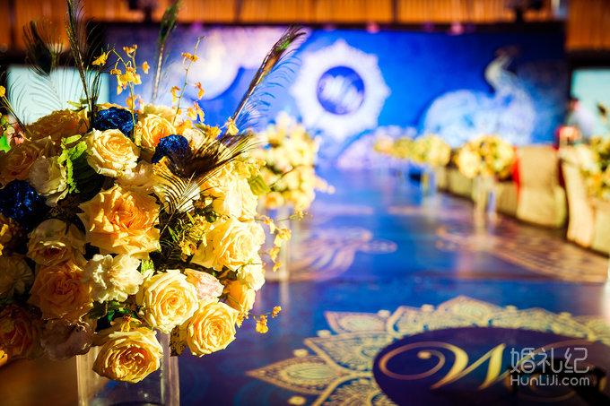 孔雀主题婚礼