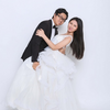 超爱的雪景婚纱照,婚照就该这样拍
