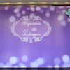 紫色的天空  婚礼上弄点棉花省钱效果又赞