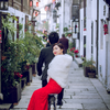 中式婚纱也能拍的很个性 看完都要笑死了!