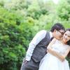 萝莉新娘的日系甜美婚纱照