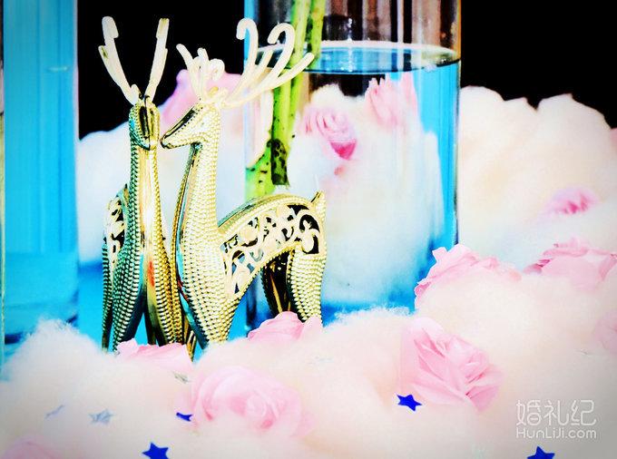 时尚欧式纱蔓巴洛克花亭一个