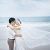 当旗袍遇上轻复古的优雅,婚纱照就完美了~