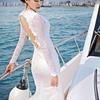 在三亚拍照简直就是享受啊 露背鱼尾婚纱也太美了吧