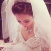 华丽公主风婚纱 都说婚礼布置很艺术