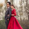 婚纱照怎能少了大红色,蕾丝、露背怎么性感怎么拍