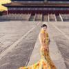 婚纱照也能中国风,大气磅礴