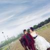 马场拖尾婚纱+中式旗袍=我们的混搭婚纱照
