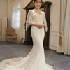 婚纱自带小披风  保暖又多点个性