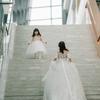 婚礼上多个花童  画风萌翻天