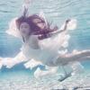 婚纱照的得意之作 水下拍的不错