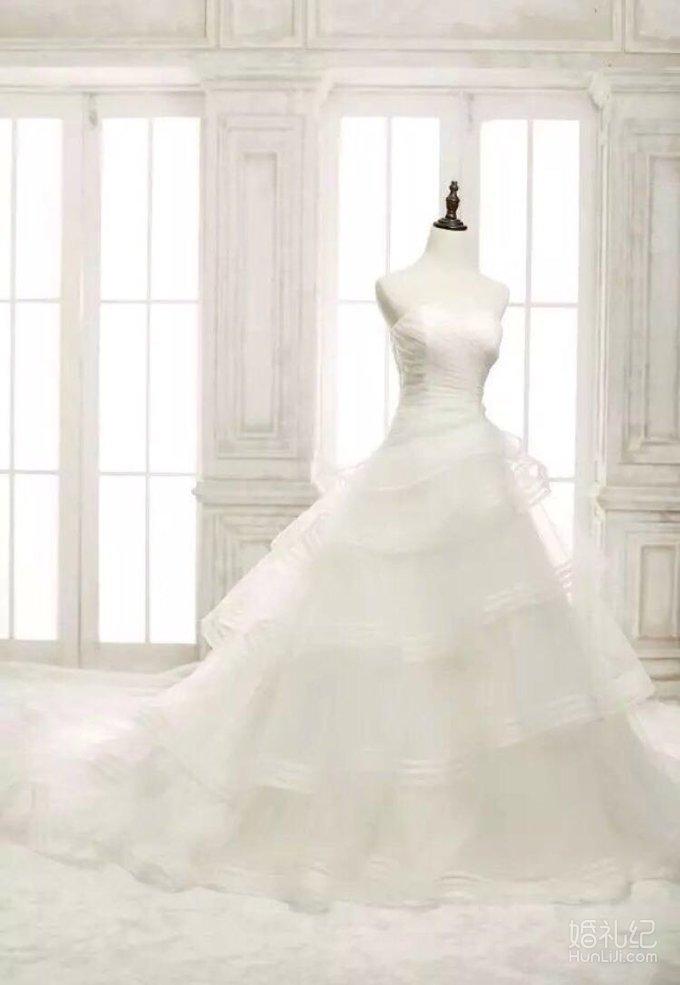 婚纱展示,婚纱礼服设计作品欣赏,婚礼纪 hunliji.com